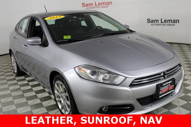 Pre Owned 2015 Dodge Dart Limited 4d Sedan In Bloomington P6725a