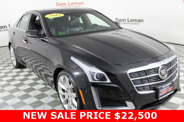 Pre-Owned 2014 Cadillac CTS 3.6L Premium
