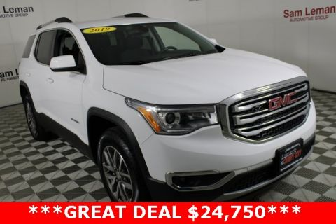 Certified Pre-Owned 2019 GMC Acadia SLE-2