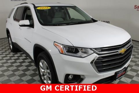 Certified Pre-Owned 2018 Chevrolet Traverse LT