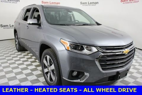New 2019 Chevrolet Traverse 3LT Leather AWD